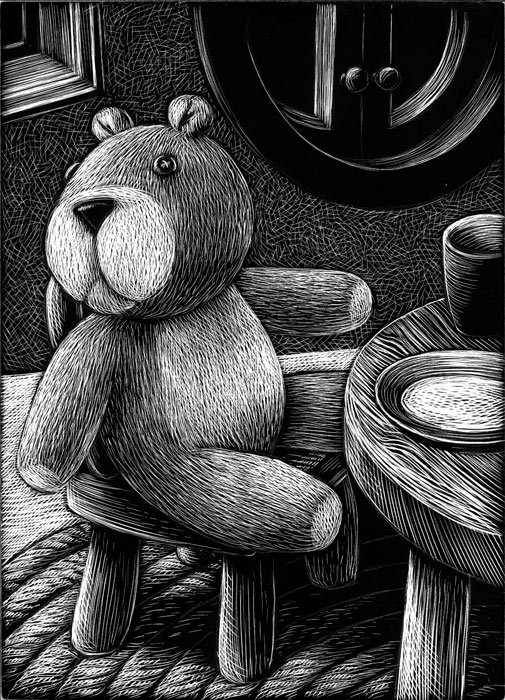 teddy-bear-at-table