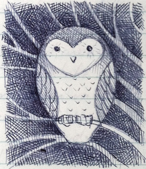 owl-in-tree-sketch